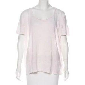 ULLA JOHNSON linen oversized T-shirt